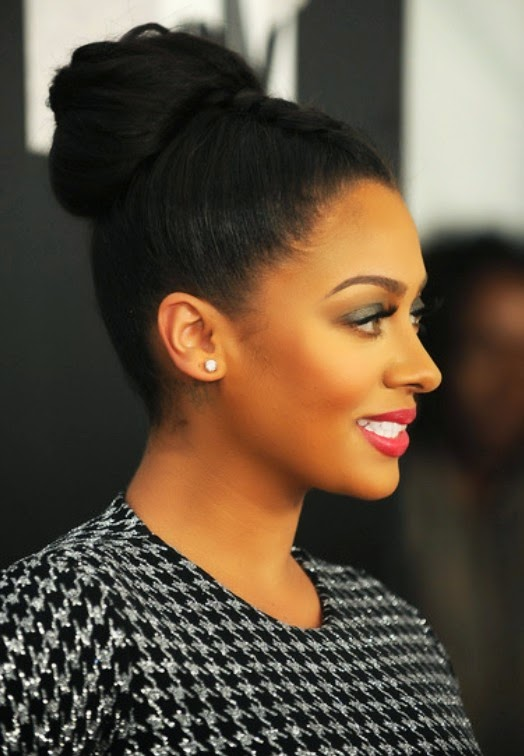 Top 18 2014 Africa America Updo Braids Hairstyles Gallery