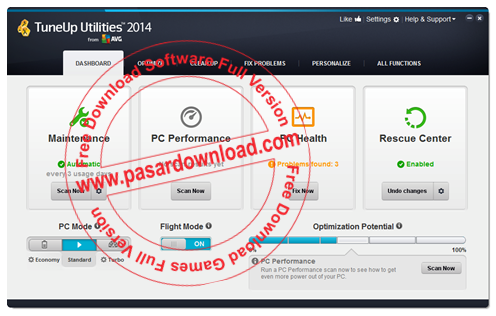 AVG PC TuneUp 2014 14.0.1001.295 Final Full Patch Download For PC