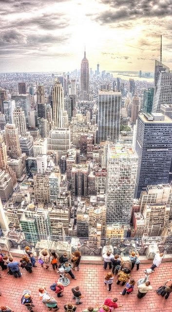 New York City NYC above jjbjorkman.blogspot.com
