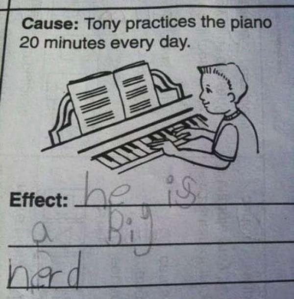 Here Are 25 Kids That Gave Absolutely Brilliant Answers On Their Tests. These Are Hysterically Genius. - BURNNNNN!