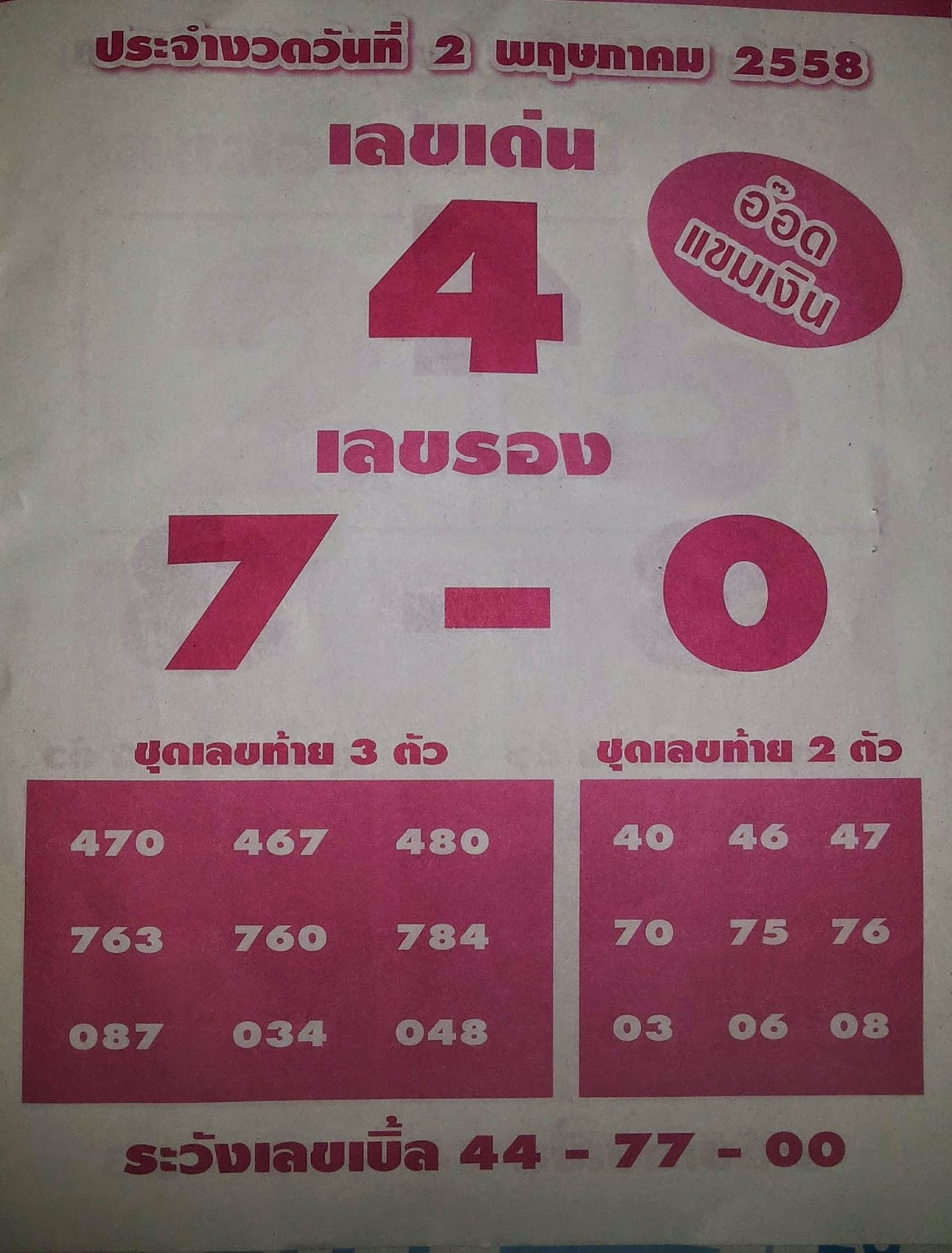 2.5.2015 All About Thai Lotto Tips - Page 6 20150420_195830