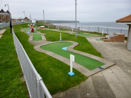 Arnold Palmer Minigolf Course in Whitby