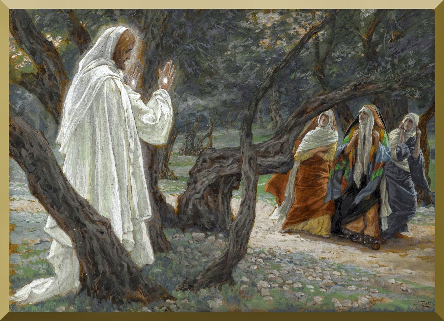 """Jesus Appears to the Holy Women"" -- by James Tissot.jpg"