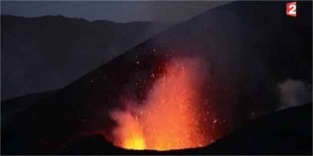 Violente éruption au Cap-Vert