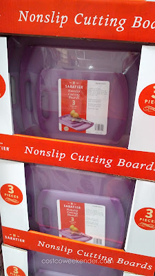 Sabatier Nonslip Cutting Board Set for chopping and food prep when cooking