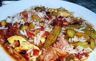 Receta de arroz con quimbombo