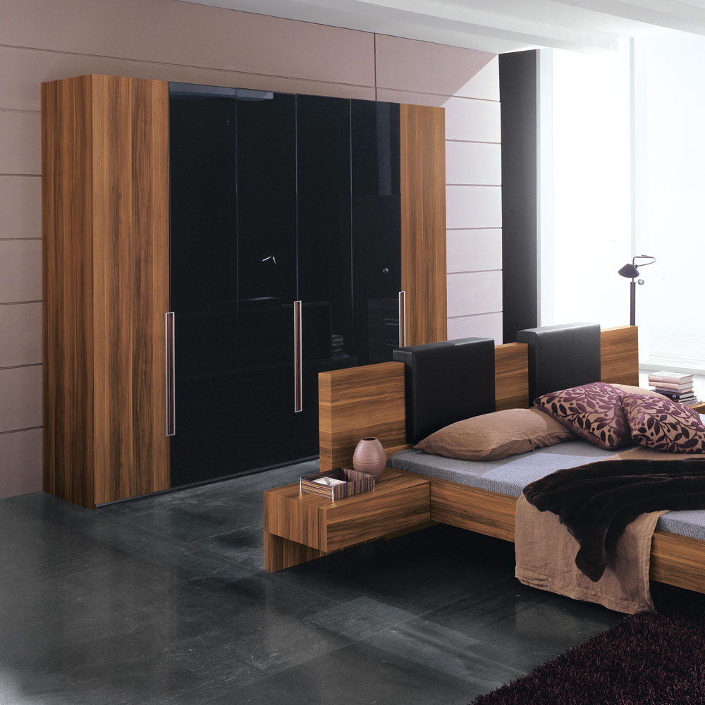 Modern house luxury bedroom furniture design for Modern room designs