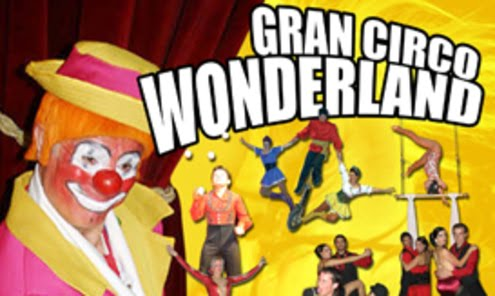 gran circo wonderland. Navidad Valencia 2012