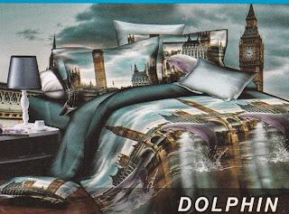 Sprei Fata Dolphin