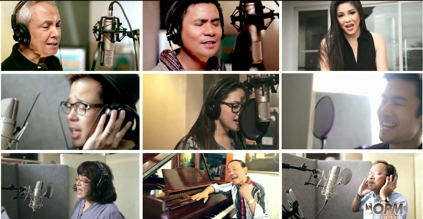 By, Hits, Latest OPM Songs, Lyrics, , MP3, Music Video, Olive, OPM, OPM Song, Original Pinoy Music, Top 10 OPM, Top10, Ang Pilipinas Ay Babangon lyrics,  OPM Board of Directors, OPM Junior Ambassadors,Ms. Regine Velasquez,Alcasid