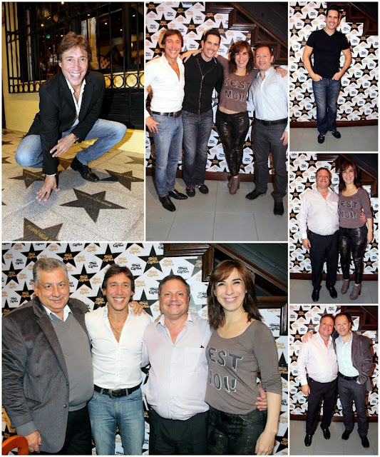 """El elenco de """"Los 39 escalones"""" cenó en Don Carlos"""