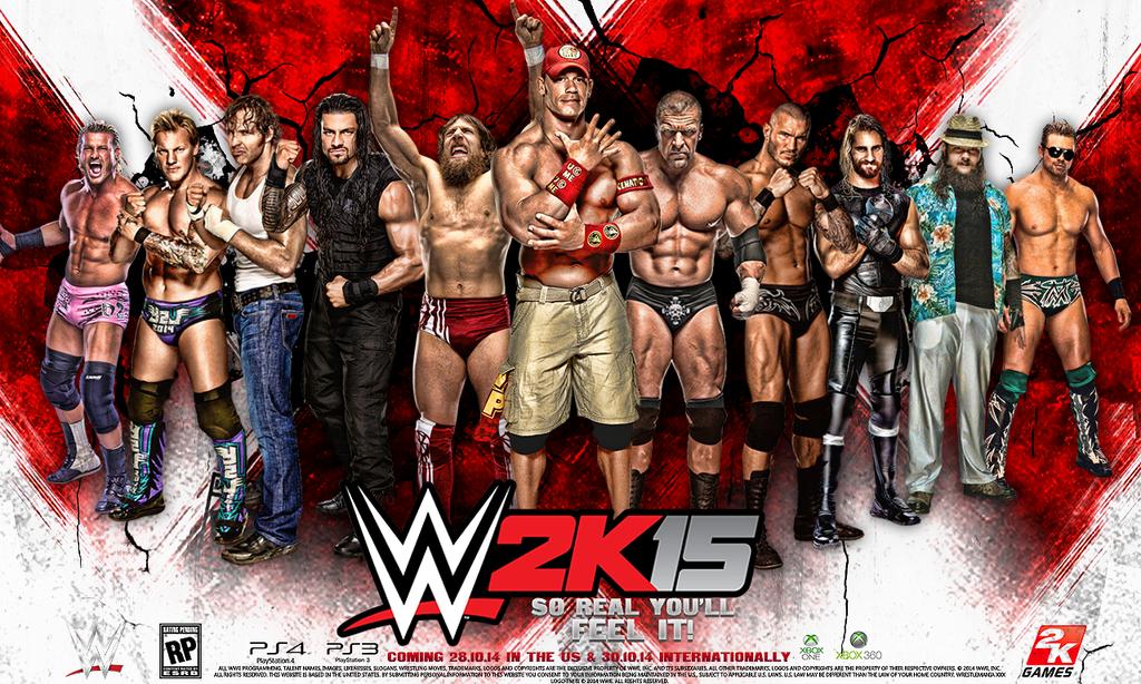 تحميل لعبة WWE 2K15 برابط واحد وبدون تثبيت