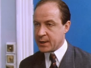 Actor David Horovitch, in the Agatha Christie Miss Marple as Inspector Slack
