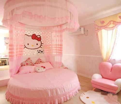 Construindo minha casa clean quarto dos sonhos de meninas for Dormitorio kawaii