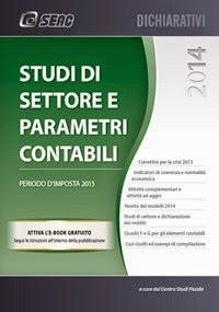 Studi di settore e parametri contabili 2014