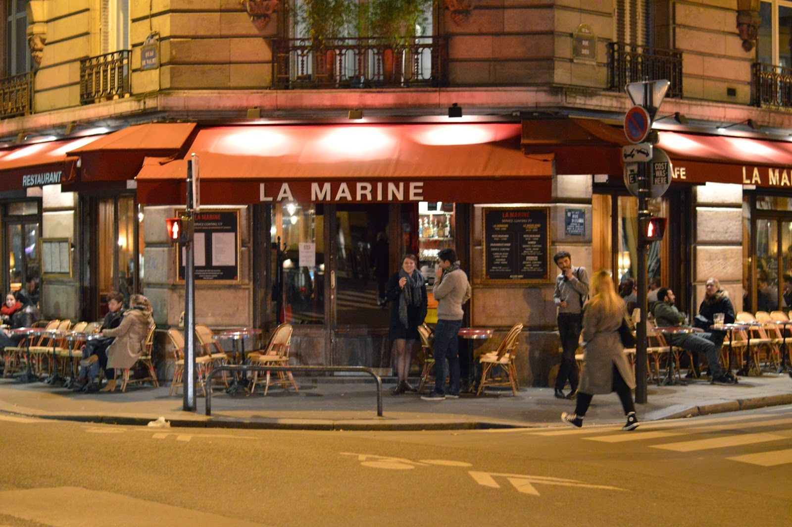 Paris restaurant La Marine