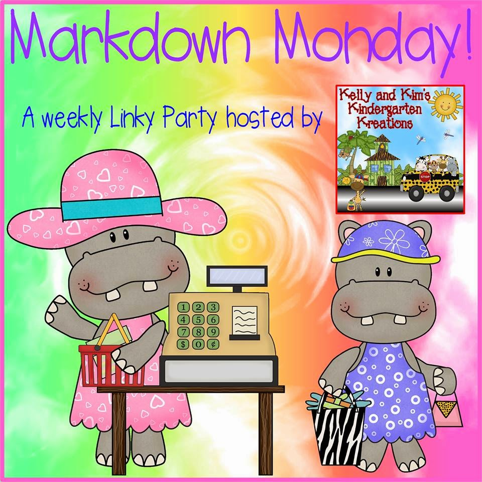 http://kellyandkimskindergarten.blogspot.com/2014/07/markdown-monday-linky-party-july-28th.html