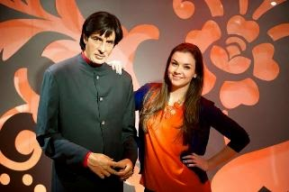 Bachchan's wax statue at Madame Tussauds Sydney
