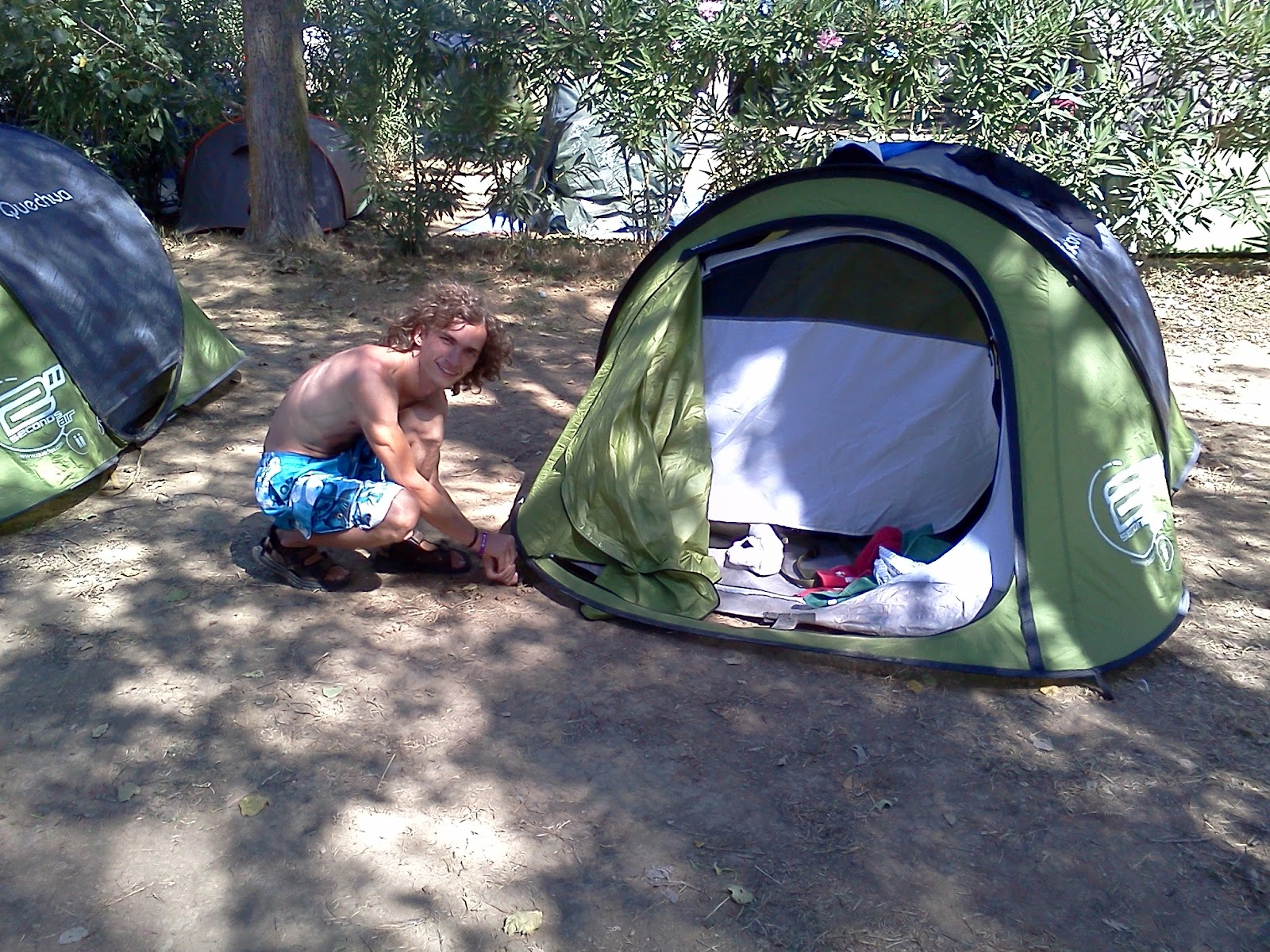 party camping in cap d agde eric and his precious