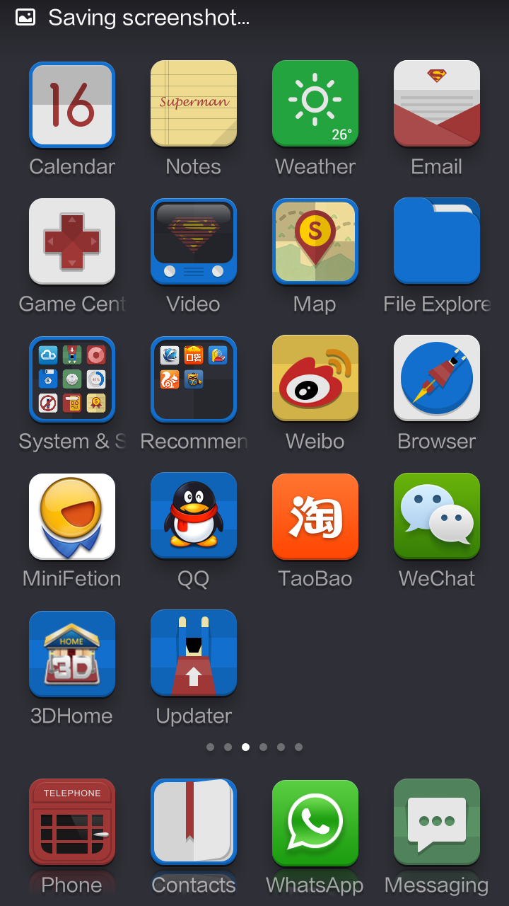 Xiaomi MIUI - Superman Theme