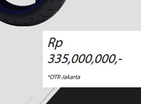Harga Yamaha YZF R1 2014 CBU di Indonesia