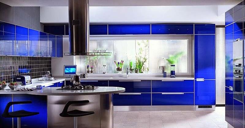 10 pilihan warna cantik untuk desain dapur minimalis
