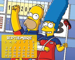 calendario_los_simpson_setiembre