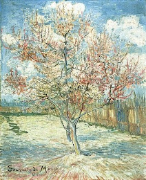Pink Peach Tree by van Gogh