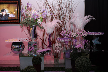 Festa lilas-branca