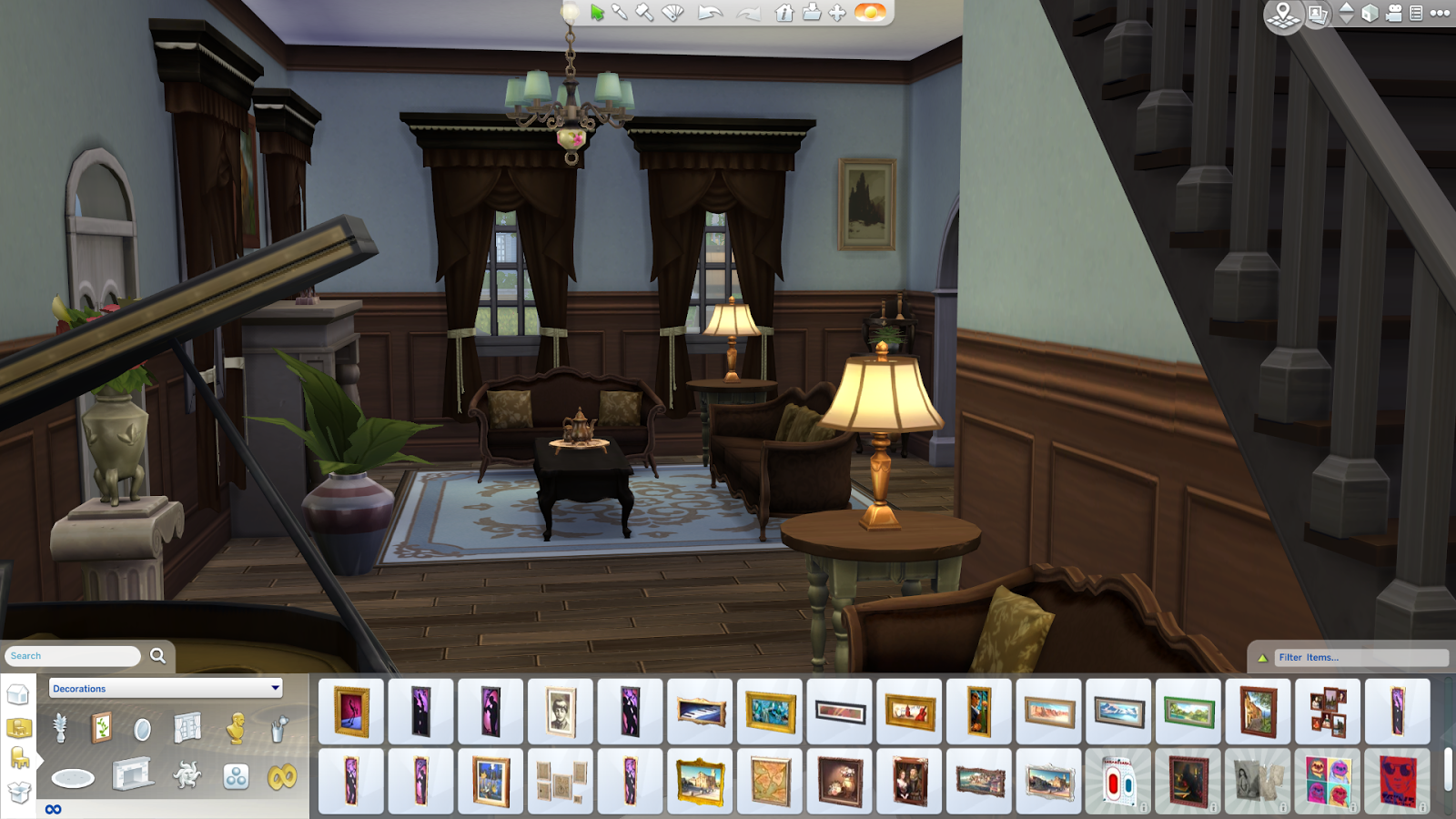 how to rotate objects in sims 4 build mode