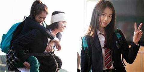 Park Shin Hye perankan karakter Choi In Ha yang menderita sindrom Pinokio di serial drama 'Pinocchio'.