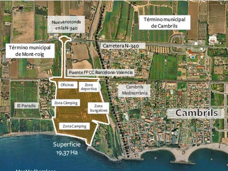 Nuevo camping de Lujo en Mont-roig, Tarragona