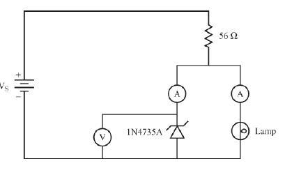 electrojets  project 2  the zener diode voltage regulator