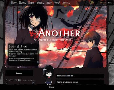Download Template Anime Keren untuk Blog