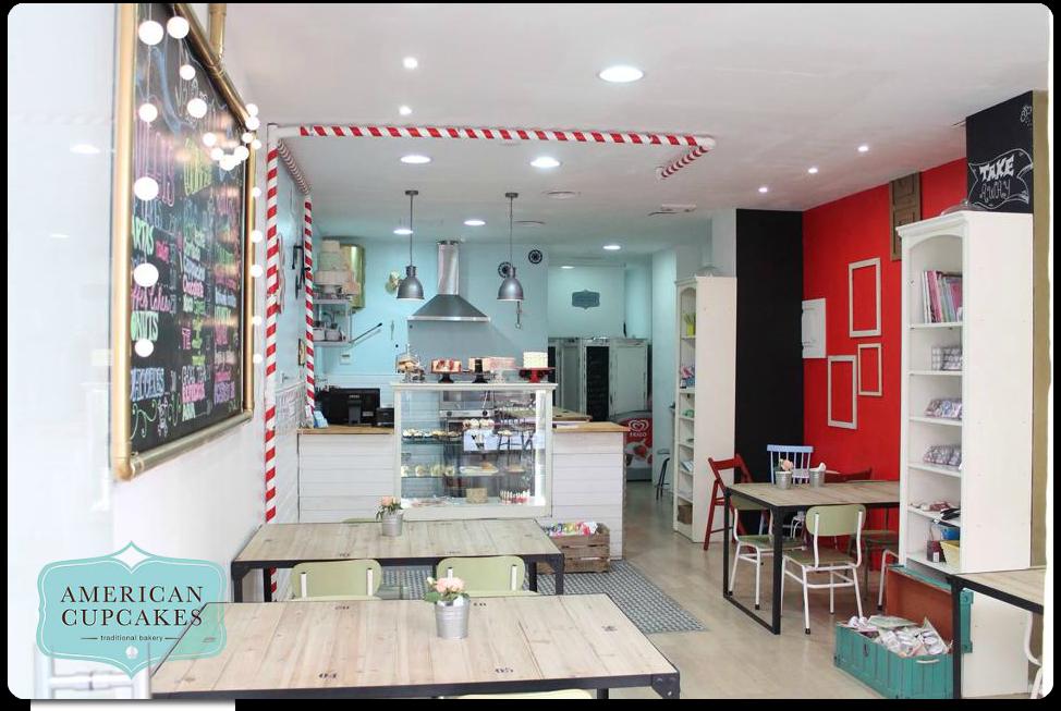 American Cupcakes Valencia Respostería creativa - sitios con encanto