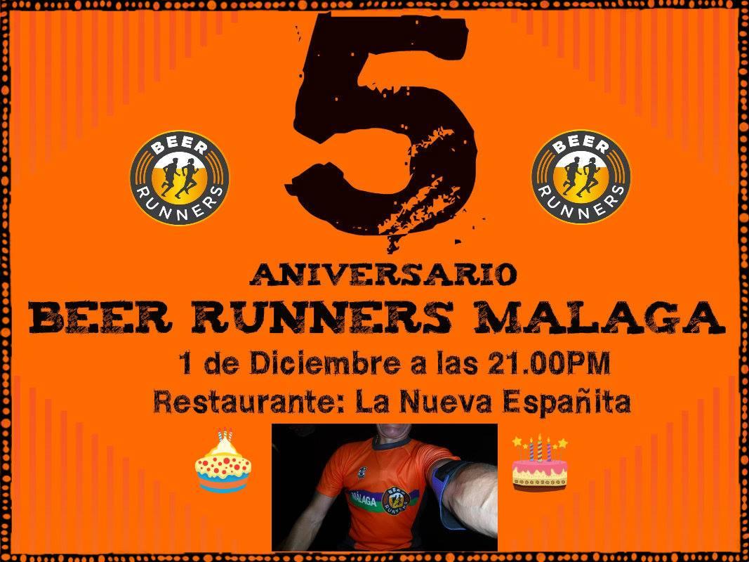 5 AÑOS BEER RUNNERS MALAGA