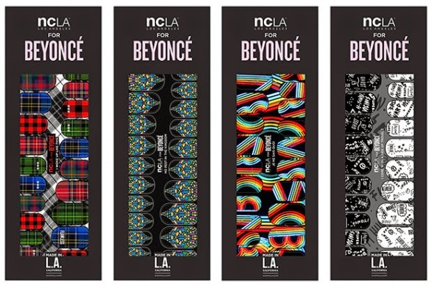 Beyonce The collection includes 4 color stickers quick manicure