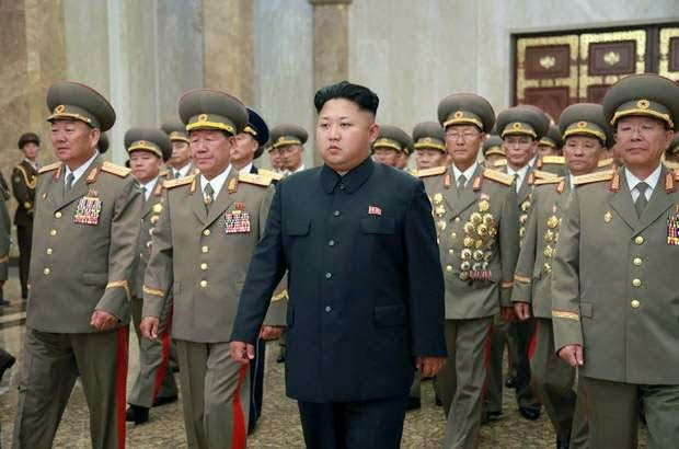 North Korea threatens the United States, will the White House and the Pentagon Nuclear Attack.JPG