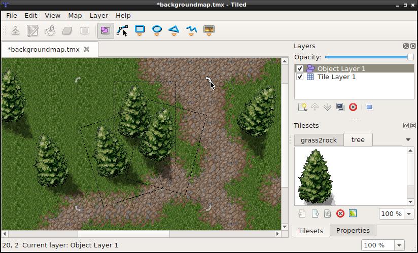 Tiled tiled map editor: tiled development update