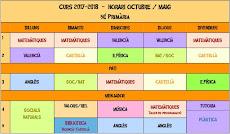 HORARI CURS 2017-2018