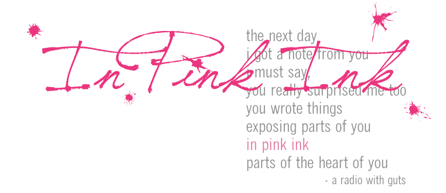 In Pink Ink