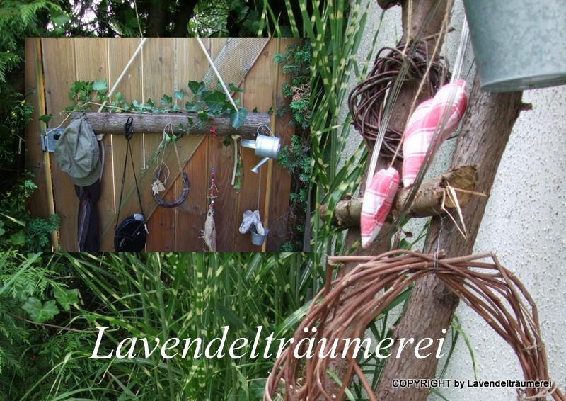 Lavendeltr umerei holzdeko f r den garten - Holzdeko im garten ...