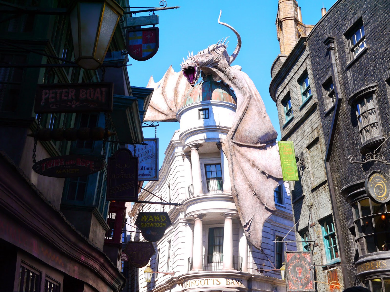 Diagon Alley at Universal Studios
