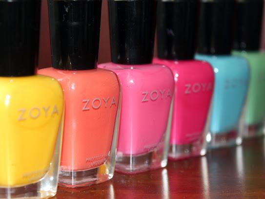 Zoya Summer 2013: Stunning
