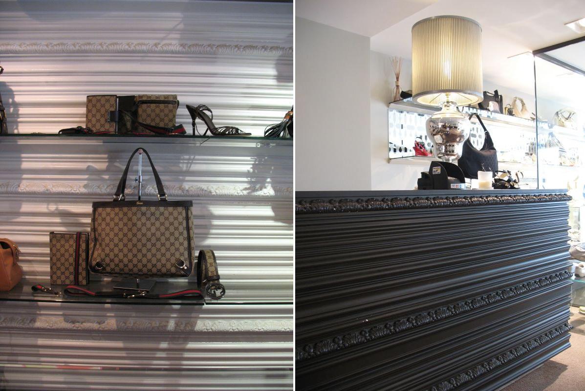 orac decor projects news gucci store hasselt belgium. Black Bedroom Furniture Sets. Home Design Ideas