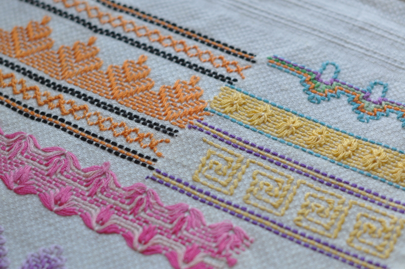 Feeling Stitchy Old Is New Again Swedish Weaving
