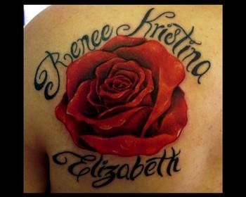 rose tattoos for girls all about. Black Bedroom Furniture Sets. Home Design Ideas