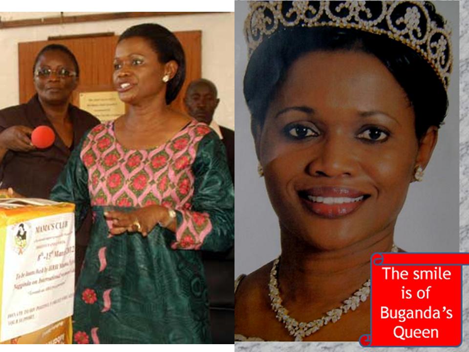 Queen Sylvia of Buganda William Kituuka Kiwanuka BUGANDA39S QUEEN AT THE LAUNCH OF