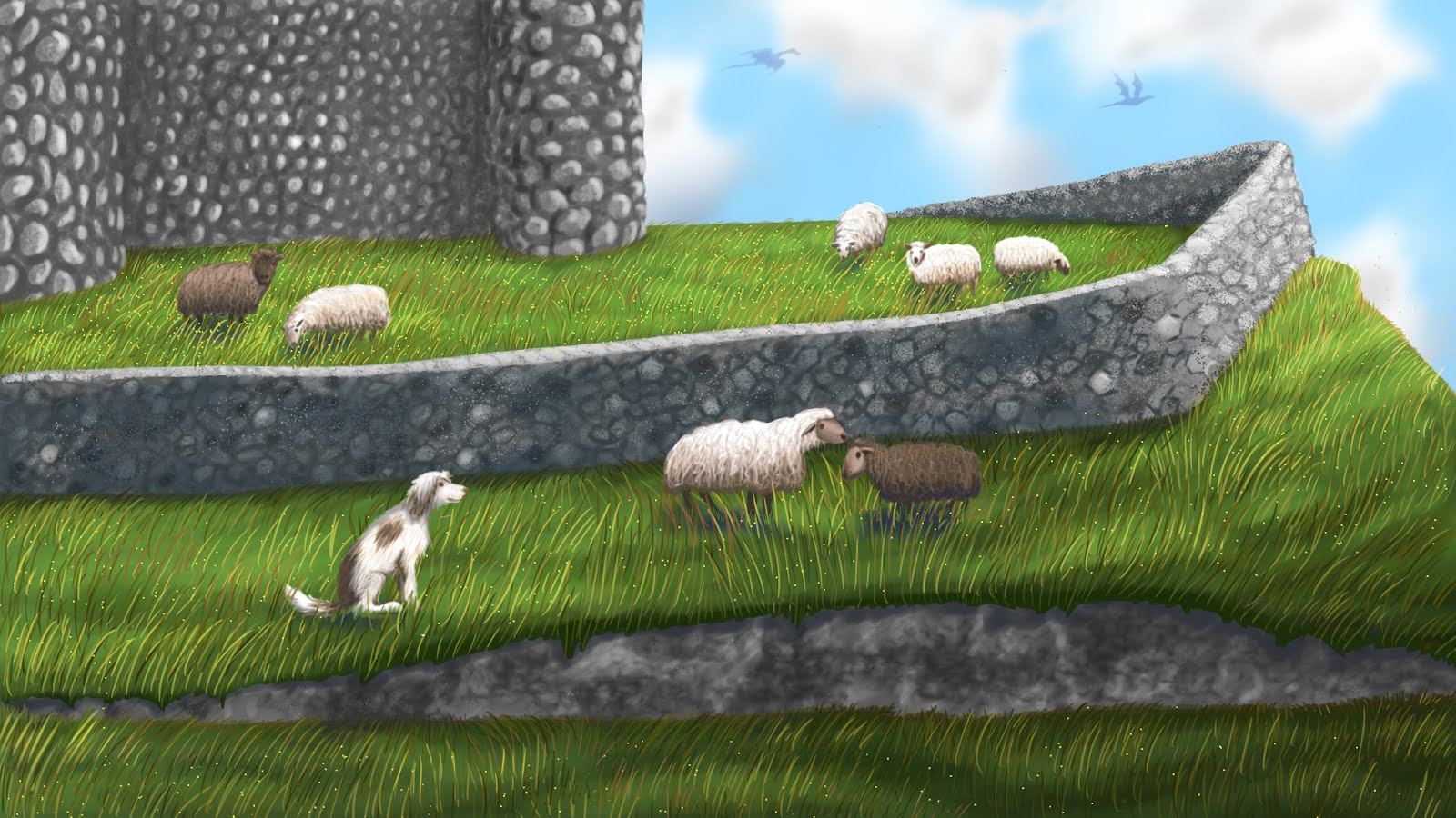 Sheep Castle!