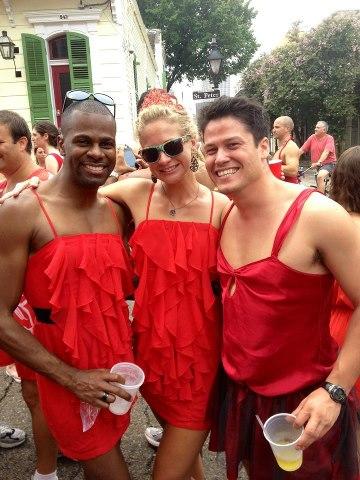5 pound red dress run